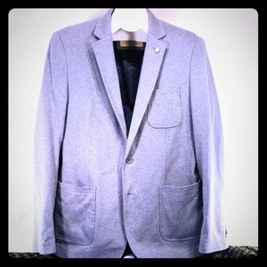Men's Sports Jacket, Tailored Look, Size, 44R